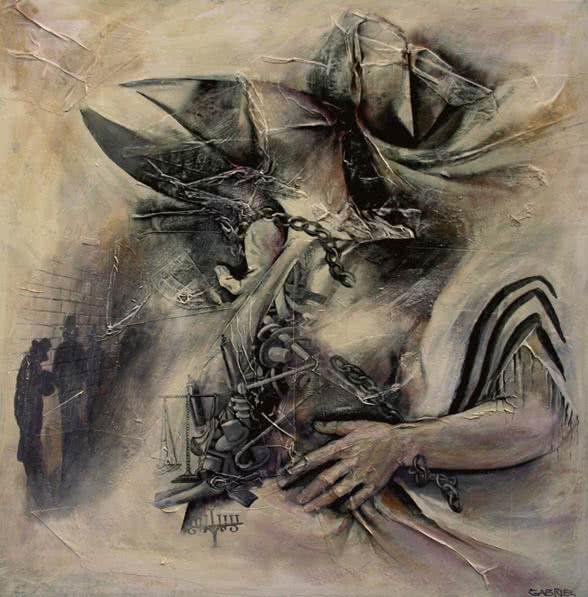 """A Taste of Freedom"" by Samson Gabriel, Original Painting"