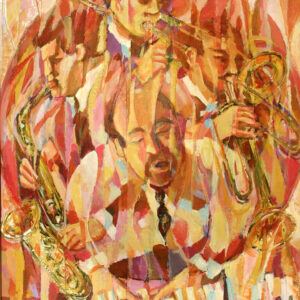 Art, All that Jazz, Original Painting