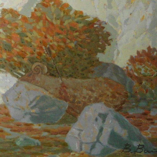 """Amazon Hunter"" Original Painting"