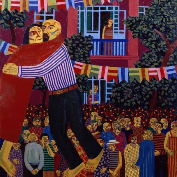 """Artwork 6"" Oil on Canvas by Sergey Dronov"