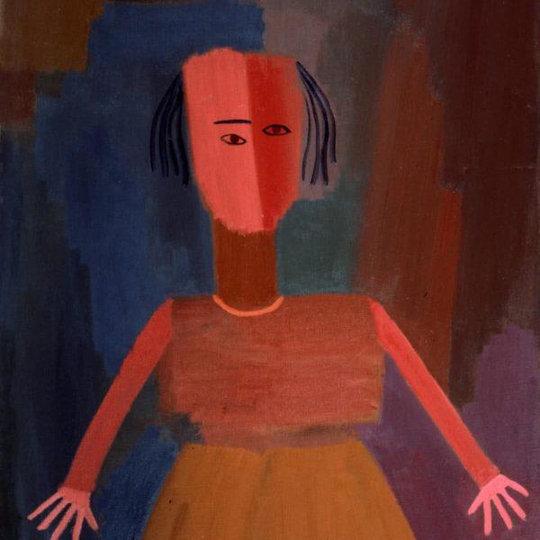 """DOLL"" Oil on Canvas by Sergey Dronov"