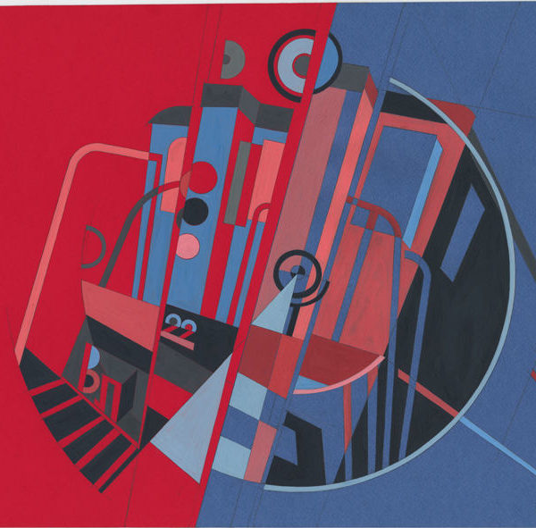Electric Locomotive VL22 (Vladimir Lenin) - Era of Locomotives Series by Alex Goncharenko