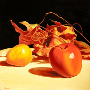 Fall Still life, Painting by Sergey Dronov, Oil on Canvas