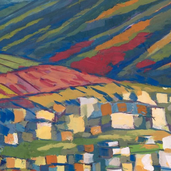 """""""Field in the Mountains"""" Original Painting"""
