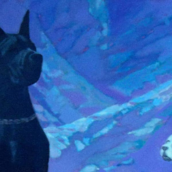 """Foreign"" Original Oil Painting by Viktor Vayas"