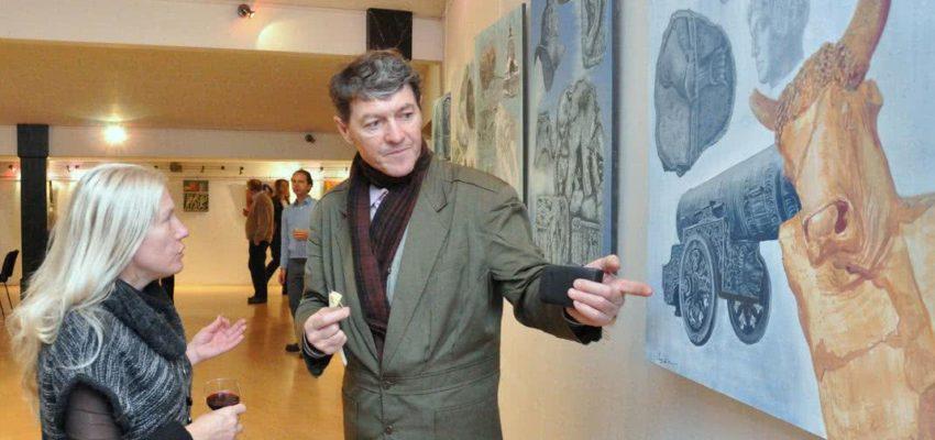 Sergey Dronov in a Gallery