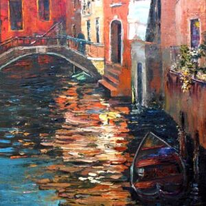"""In Venice"" Original Oil Painting"