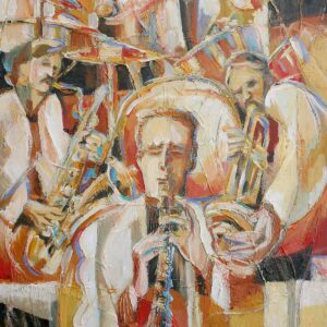 """Jazz Quartet"" Original Painting"