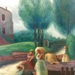Laundresses on the River - by Sergey Dronov (SOLD)