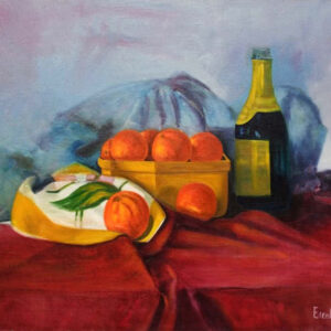 Mandarins Deluxe by Ercole Ercoli Original Painting