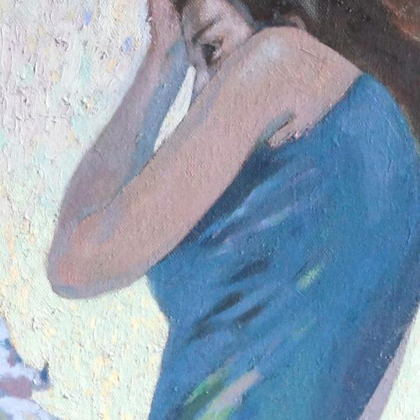 """Mirror"" by Julia Weyss, Original Painting"