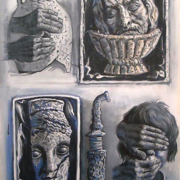 """Mystery of Judith"" Original Painting"