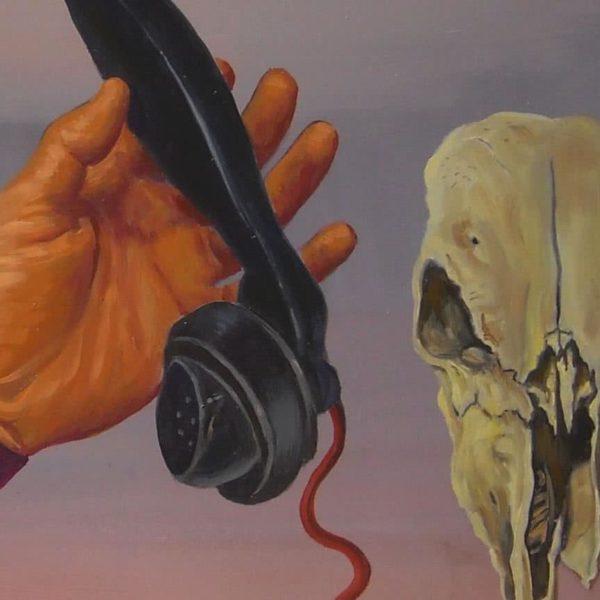 """Phone Ring"" Original Painting"
