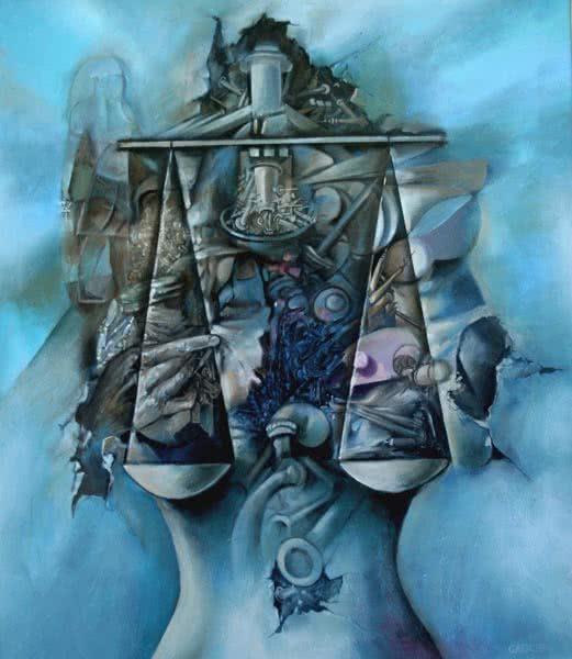 """Poetic Justice"" by Samson Gabriel, Original Painting"