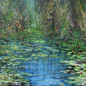 """Pond"" by Samson Gabriel, Original Painting"