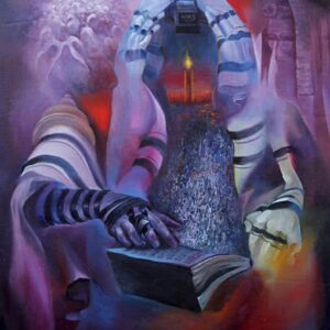 """Prayer"" by Samson Gabriel, Original Painting"