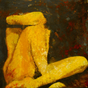 """Resting Nude"" Original Oil on Canvas"