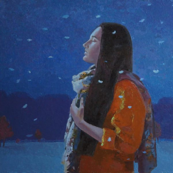 """Silence"" Original Painting by Julia Weyss"