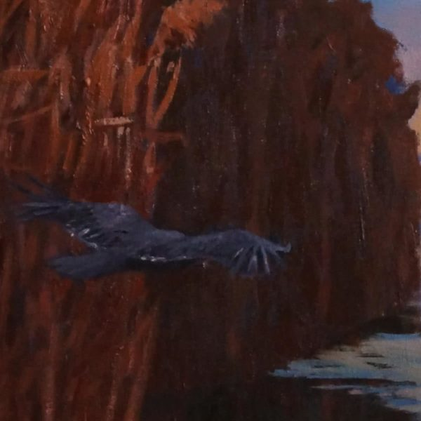 """Silence"" by Julia Weyss, Original Painting"