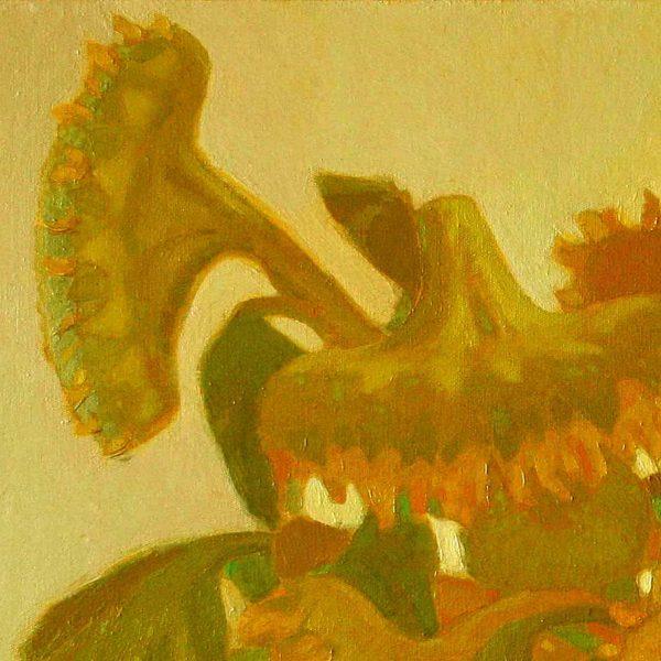 """Sunflowers"" Original Oil on Canvas Painting"