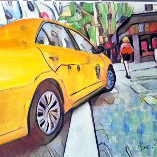 The taxicabs of New York City Art