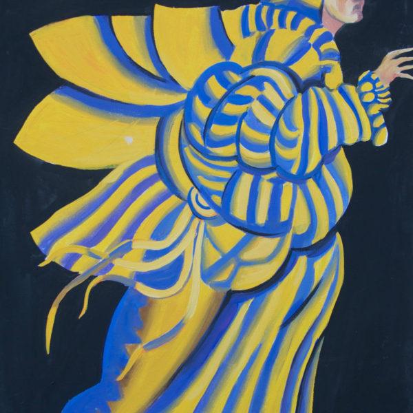 Theater Costume Design of Sulamiph by Iosef Yusupov