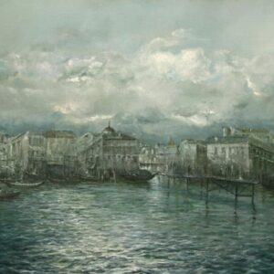 """Venice before The Rain"" Original Oil Painting"