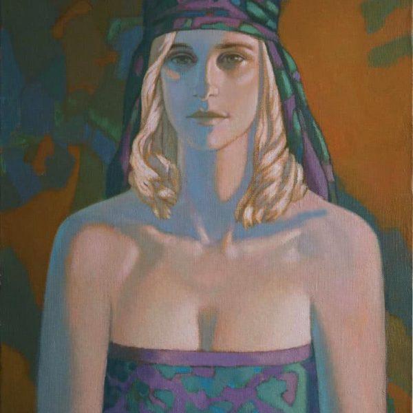 """Illuminated by Sunlight"" Original Oil Painting by Viktor"